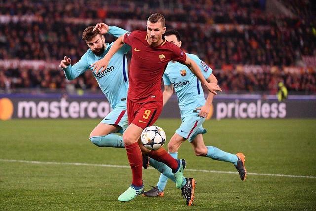 史诗!罗马3-0逆转淘汰巴萨,马诺拉斯绝杀