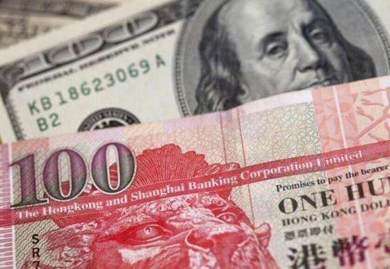 港元贬值至7.85干预底线 联系汇率制度缺陷暴露