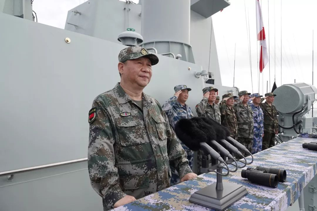 央视快评:建设强大的人民海军