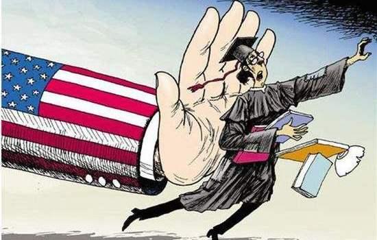 美国加大中国留学生缺课被开除遣返学费不退