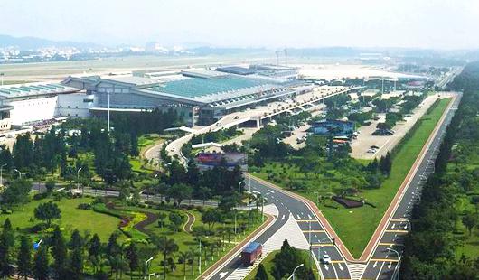 长乐国际机场第二轮扩能进展迅速