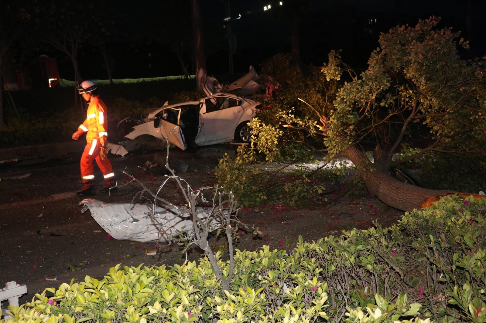 泉州石狮一交通事故致3死2伤  驾驶员有醉驾嫌疑