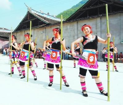 """福安""""三月三"""":畲族趣味运动乐翻天"""