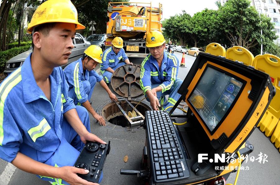 福州城区水系治理实现全域系统治理