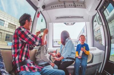 全国L4级无人驾驶车辆在福州首次面向公众试乘