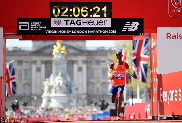 伦敦马拉松法拉赫新纪录被少算11秒 刷新英国国家纪录
