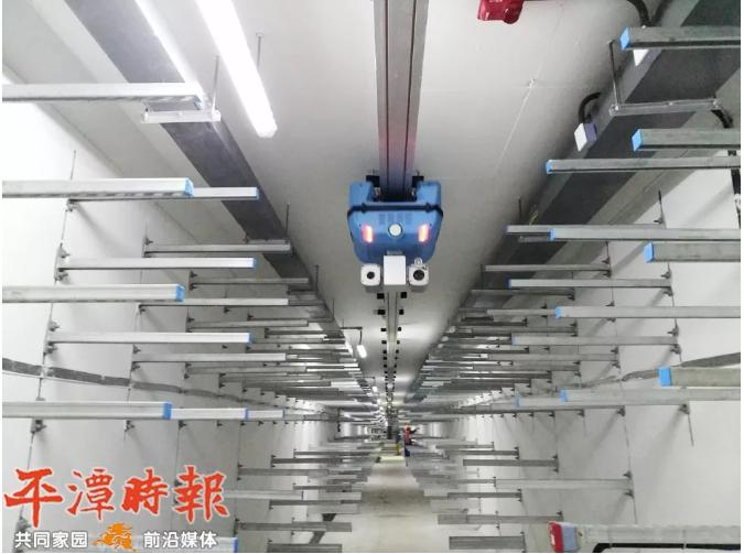 平潭地下综合管廊预计5月完成 率先应用机器人巡检系统