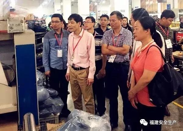 省安监局督查组到莆田市开展职业健康执法交叉检查