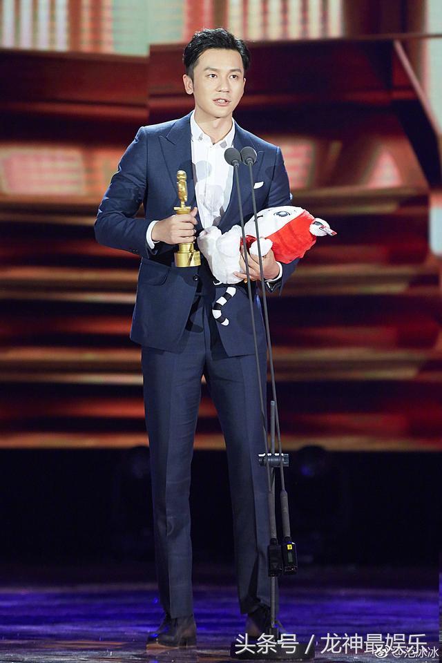 《天空猎》李晨获大学生最受欢迎导演奖,范冰冰:我哥,为你高兴