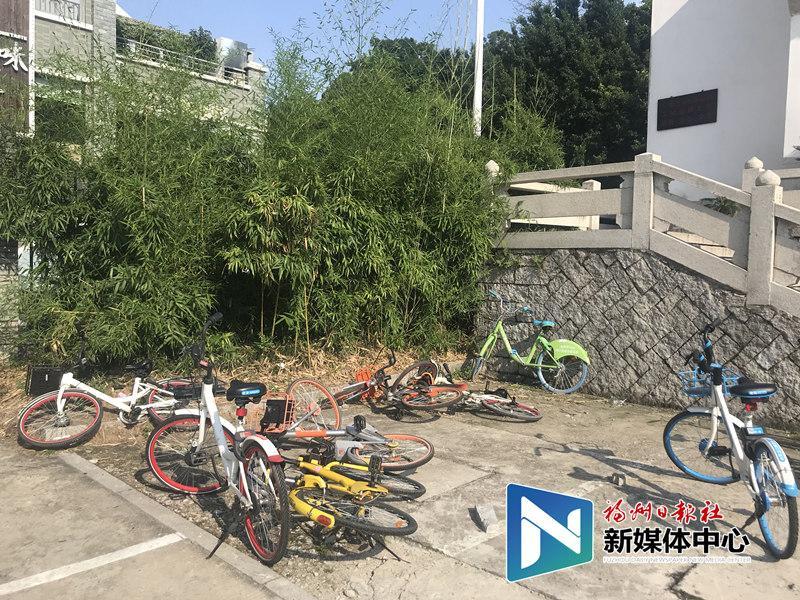 福州8个路段和地铁口禁止停放共享单车