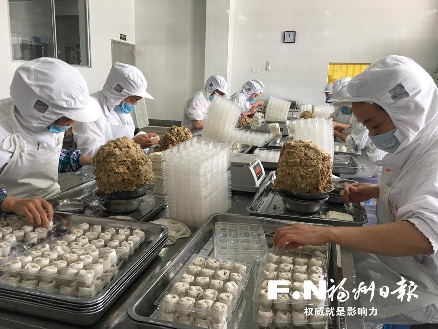 福州鱼糜制品畅销海外华人聚集地