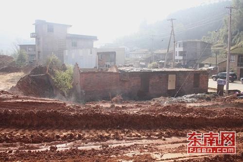 南平顺昌县建西镇建西大桥及连接线公路征迁工作接近尾声