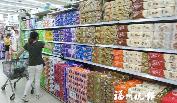 部分成品纸月初至今涨价30% 福州生活用纸暂未涨价