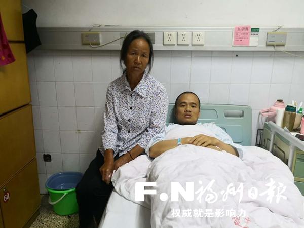 福州男子患重病需60万手术费 儿子想要辍学打工救父