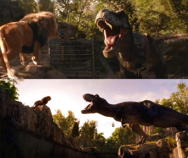 《侏罗纪公园2》霸王龙大闹圣地亚哥之后 ,时隔多年第二次离开恐龙岛