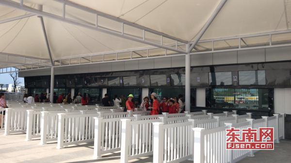 湄洲岛文甲一级游客服务中心集散广场建成投用