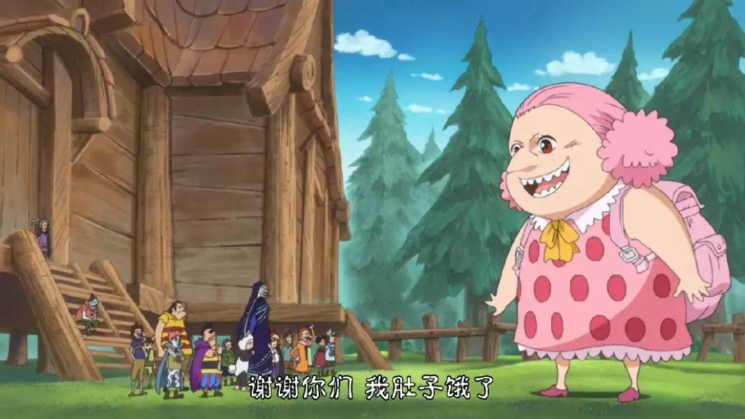 海贼王动画836:草帽大船团女船医露脸,小时候样子超可爱!