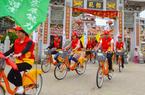 泉港峰尾镇:骑行倡导移风易俗