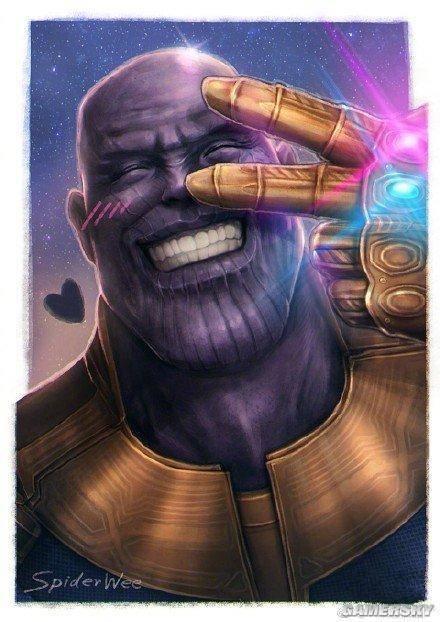 """灭霸表情包被网友玩坏了 全宇宙都在恶搞""""紫薯精""""图片"""