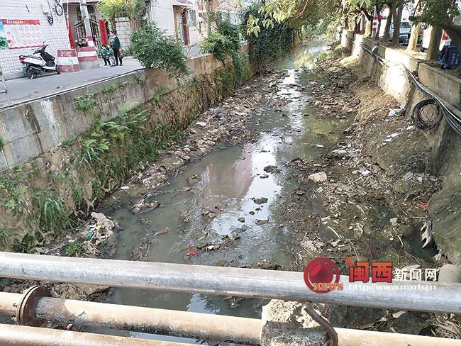 龙岩中心城区葫芦溪片区雨污分流改造项目完成