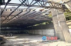 漳州一小区车还在停车场就开拆 400多户业主电动车无处停
