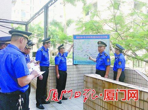 厦门思明区城管严格执法 守护中心城区环境
