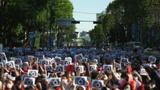 韩爆大规模女性示威活动