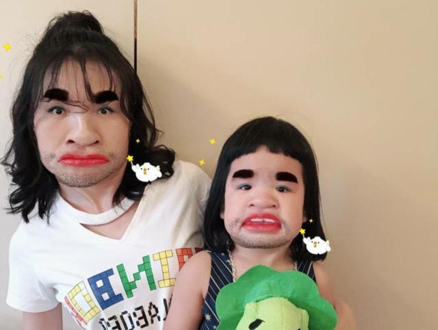 综艺节目  有这么可爱的老婆和女儿,网友们表示十分羡慕包贝尔啦,希望