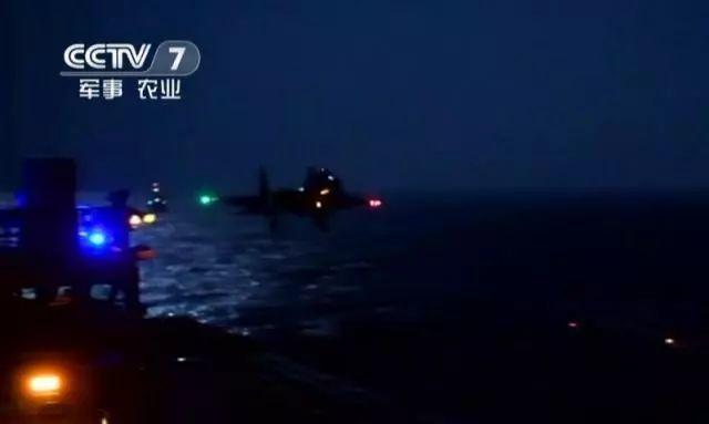 着重标志性事件!华夏航母舰载机夜间起降成功
