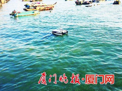 海水取样有了无人船 污染区浅水区都能去