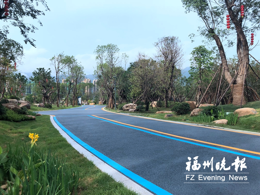 福州鹤林生态美牛岗童趣多 徒步晋安公园5条线路可选