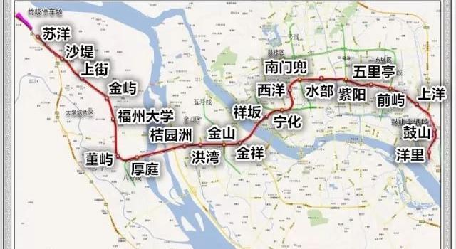 福州地铁2号线拟明年1月试运行 风水电安装已完成40%