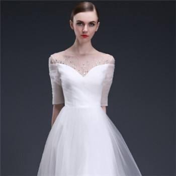结婚当天穿婚纱哪种好看 新品婚纱款式介绍