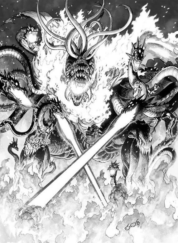一拳超人漫画133话:王大蛇的攻击实力展现,应该能挨琦玉两拳