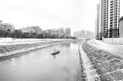 福州仓山浦上河整治 打造生态驳岸样板
