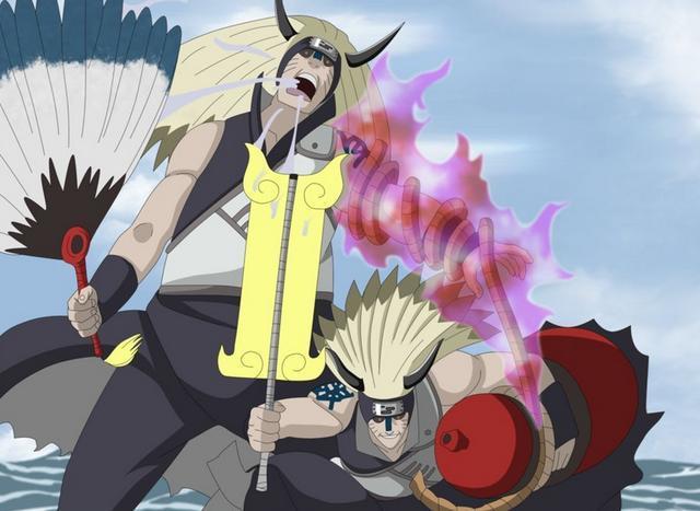 火影最奇葩的忍者金银兄弟,不是人柱力却能使用尾兽的力量!