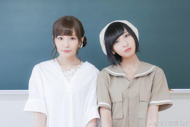 百合漫改编OVA《牵牛花与加濑同学》两女主写真配合上映