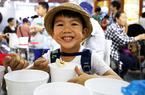 远洋水产齐聚渔博会 市民纷纷携家带口逛展