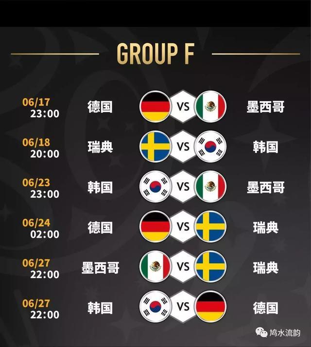 2018俄罗斯世界杯北京时间完整赛程表大图 6月14日23时揭幕战