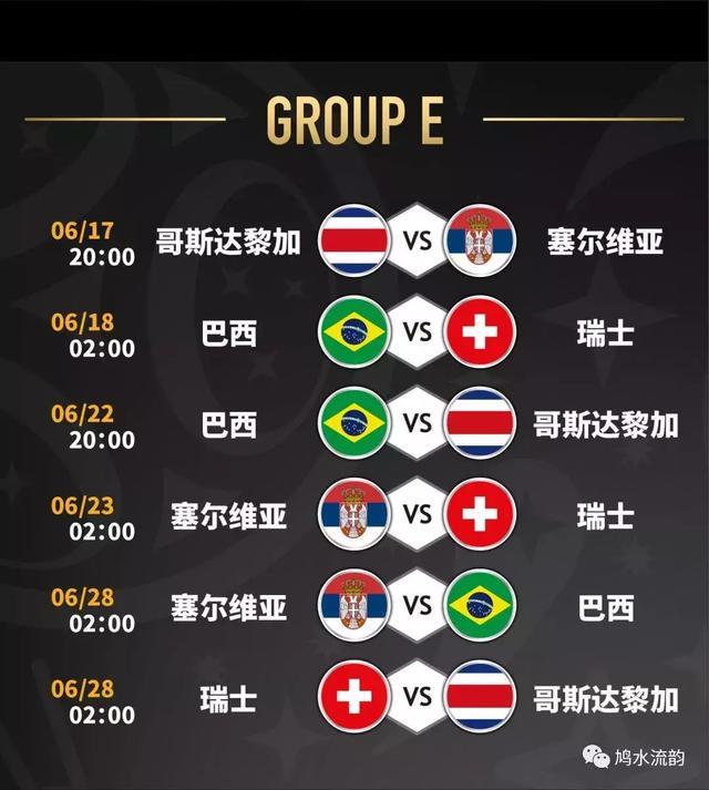 2018俄罗斯世界杯北京时间完整赛程表大图 6