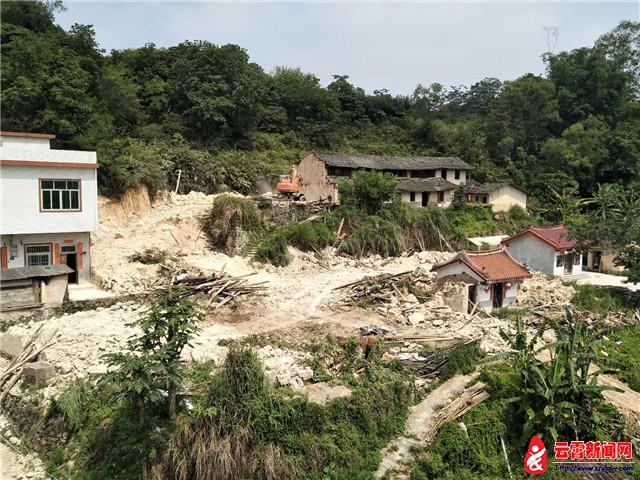 云霄县马铺乡:安全隐患治理再发力,拆违约7000平方米