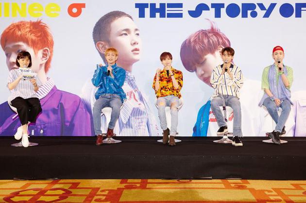SHINee出道十周年发新专辑《The Story of Light》