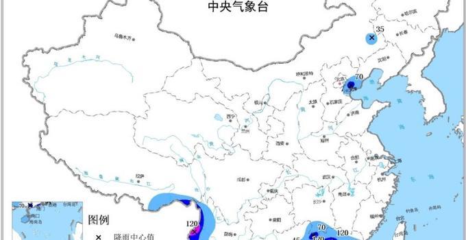 珠三角地区成暴雨集中地 华北东北警惕强对流