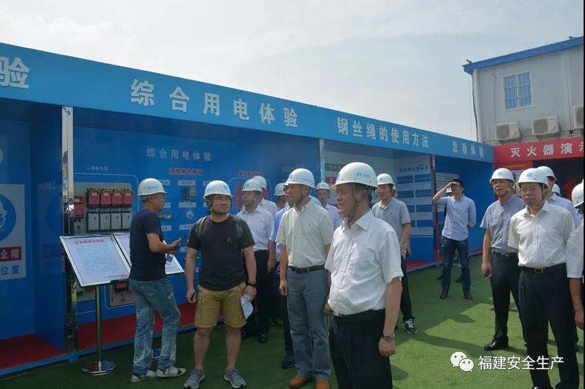 省委常委、常务副省长张志南到福州检查安全生产工作
