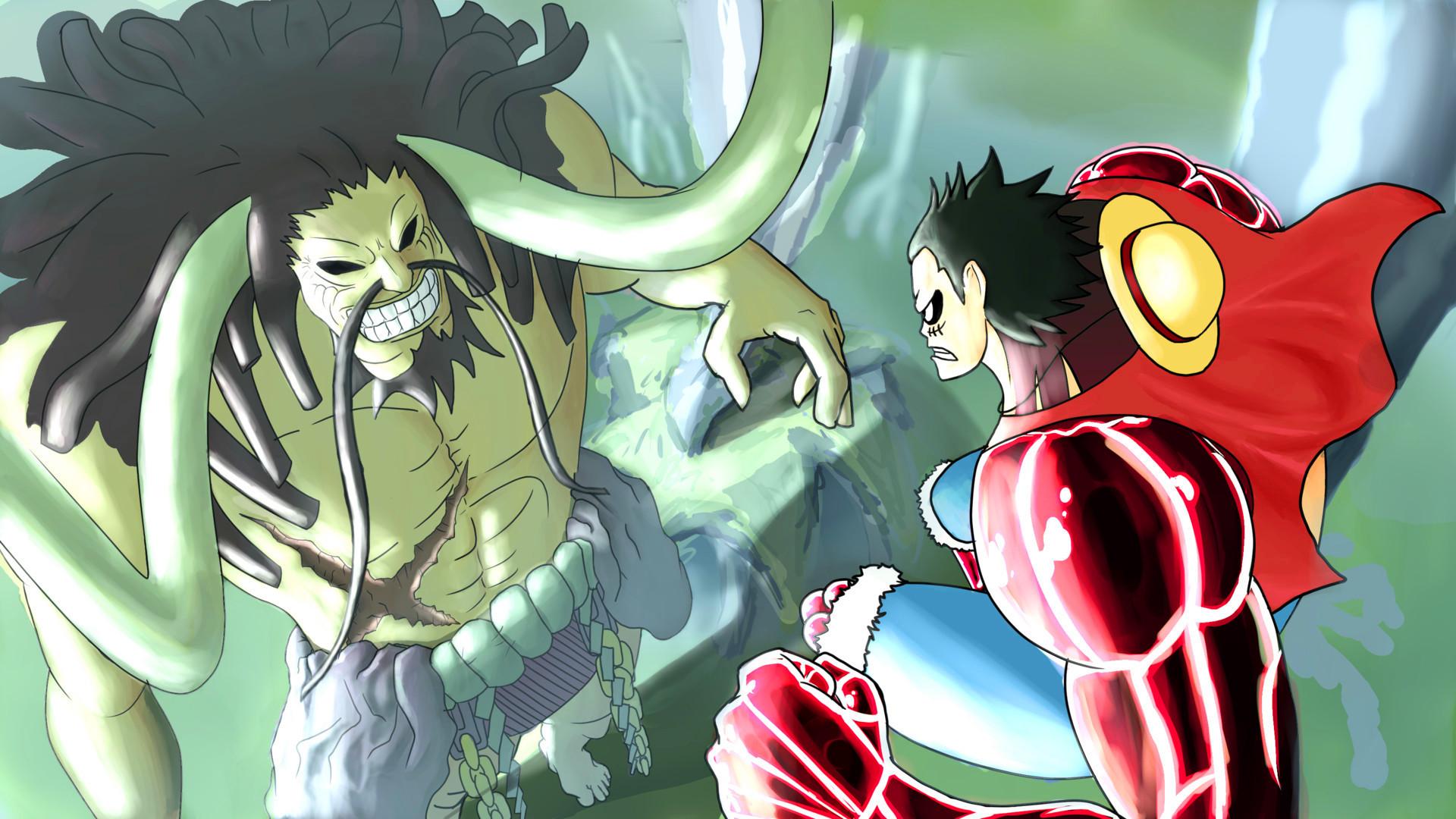 海贼王漫画908话:海贼王罗杰左手即将出现,帮助路飞挑战凯多