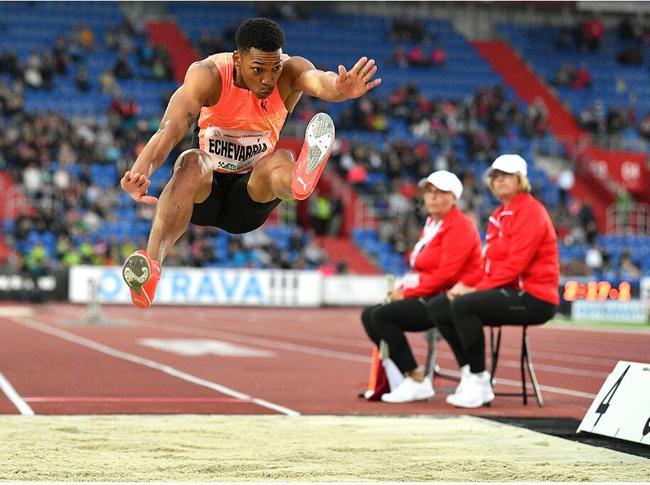 古巴跳远神童再创新高!加特林百米连续夺冠