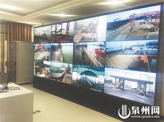 """泉州港视频监控系统布""""天眼"""" 危险货物港口作业全监控"""