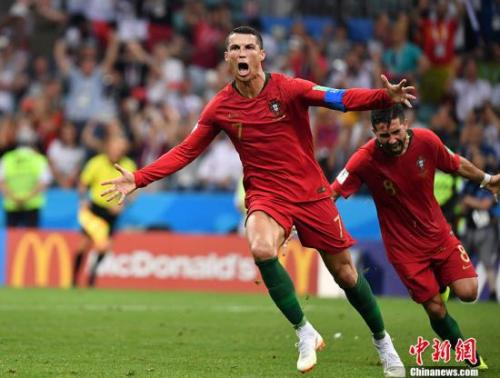俄罗斯世界杯C罗现身赛后发布会:这是我的生涯最佳时刻