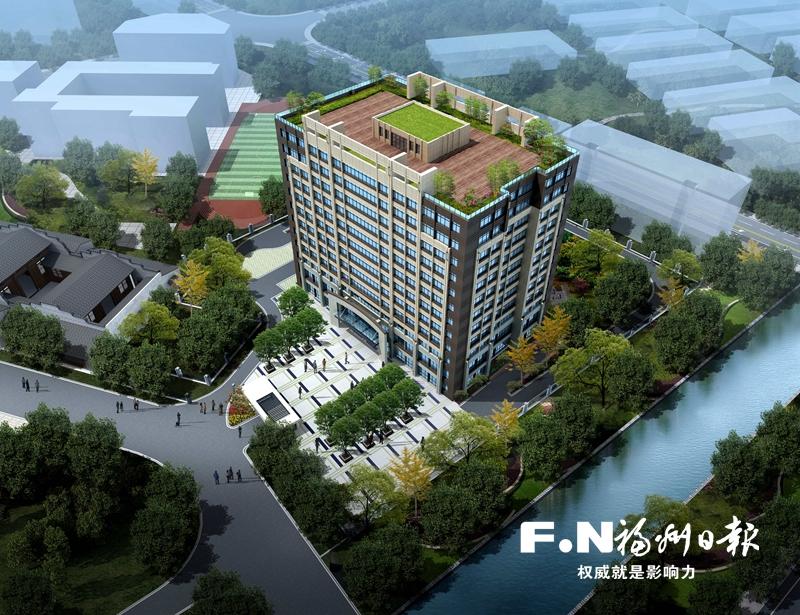 福州奥体颐养中心项目全面开建 预计2020年上半年建成