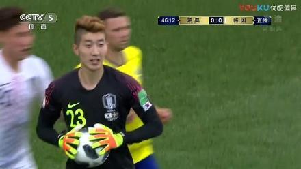 韩国门将化妆脸白的反光 韩国门将整场结束发型不乱秘诀是什么?